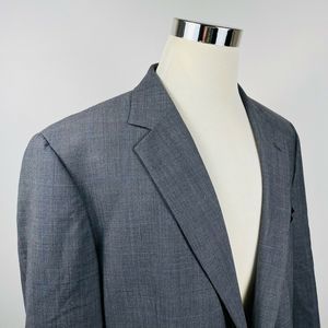 Brooks Brothers Mens 46L Sport Coat Wool Stretch